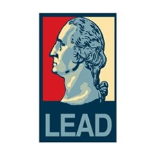 LEAD Rectangle Decal