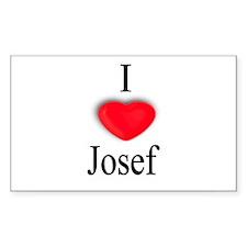 Josef Rectangle Decal