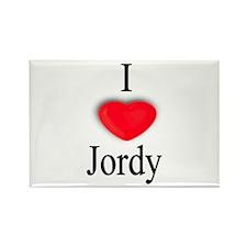 Jordy Rectangle Magnet (100 pack)