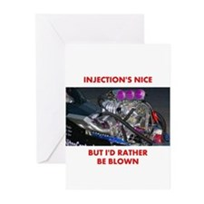 TOP FUEL BLOWN RACE CAR Greeting Cards (Pk of 20)
