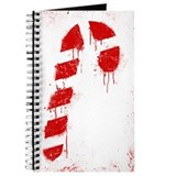 Graffiti Candy Cane Journal