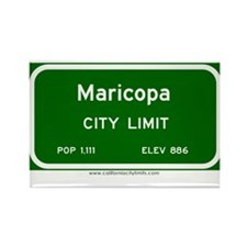Maricopa Rectangle Magnet