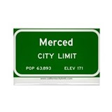 Merced Rectangle Magnet (10 pack)