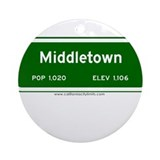 Middletown Ornament (Round)