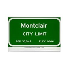 Montclair Rectangle Magnet