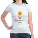Phlebotomy Chick Jr. Ringer T-Shirt
