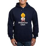 Phlebotomy Chick Hoodie (dark)