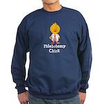 Phlebotomy Chick Sweatshirt (dark)
