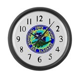 USS Eldorado (AGC 11) Large Wall Clock