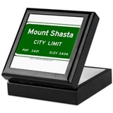 Mount Shasta Keepsake Box