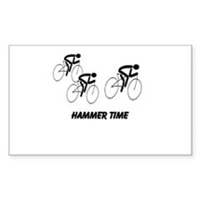 Hammer Time Rectangle Decal