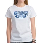 World's Greatest Nurse Women's T-Shirt