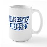 World's Greatest Nurse Large Mug