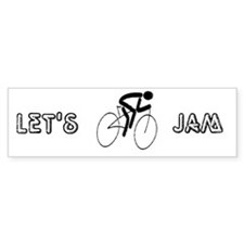 Let's Jam Bumper Bumper Sticker