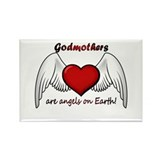 Angel Godmother Rectangle Magnet