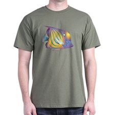 NEW Black Angelfish T-Shirt