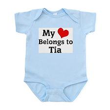 My Heart: Tia Infant Creeper