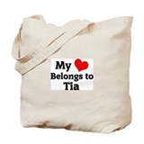 My Heart: Tia Tote Bag