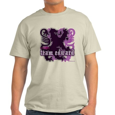 Team Edward Royal Purple Crest Light T-Shirt