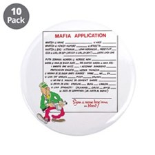 "MAFIA APPLICATION 3.5"" Button (10 pack)"