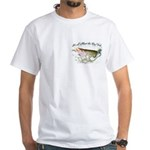 Tiger musky, White T-Shirt