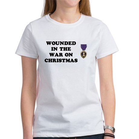 War On Christmas Wounded Women's T-Shirt