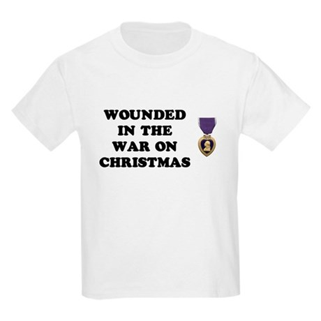 War On Christmas Wounded Kids T-Shirt