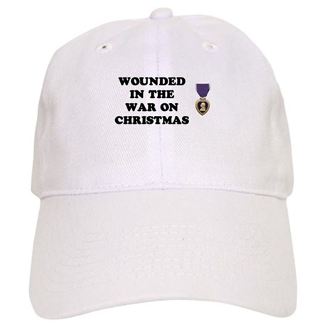 War On Christmas Wounded Cap