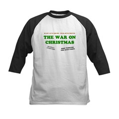 War On Christmas Kids Baseball Jersey