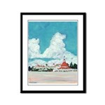 Coronado Beach Framed Panel Print
