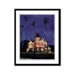 California Holiday Seasons Framed Panel Print