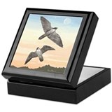 Keepsake Box - Falcons in Flight.