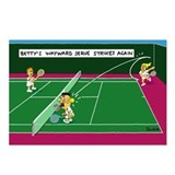 Unique Tennis Postcards (Package of 8)