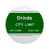 Orinda Ornament (Round)