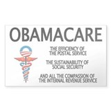 OBAMACARE II Rectangle Bumper Stickers