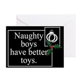 Naughty Boys Greeting Cards (Pk of 20)