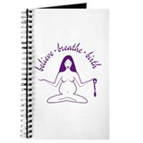 Believe Breathe Birth Pregnancy Journal