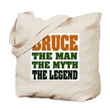 BRUCE - The Legend Tote Bag