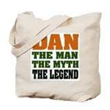 DAN - The Legend Tote Bag