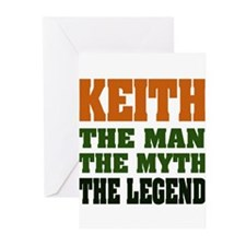 KEITH - The Legend Greeting Cards (Pk of 20)