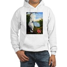 Cockatoo and Orchid Jumper Hoody