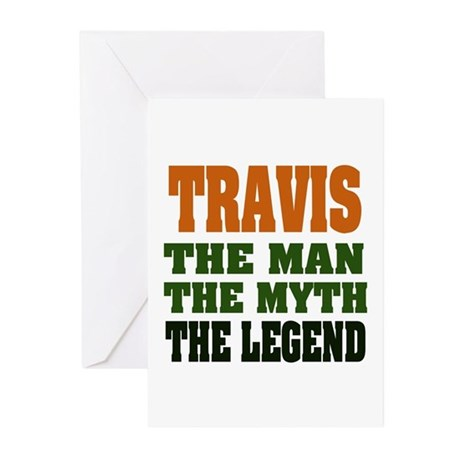 TRAVIS - The Legend Greeting Cards (Pk of 20)