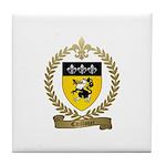 CAILLOUET Family Crest Tile Coaster