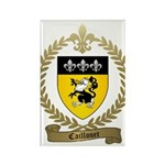 CAILLOUET Family Crest Rectangle Magnet