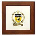 CAILLOUET Family Crest Framed Tile