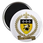 """CAILLOUET Family Crest 2.25"""" Magnet (100 pack"""