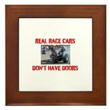 REAL RACE CARS Framed Tile
