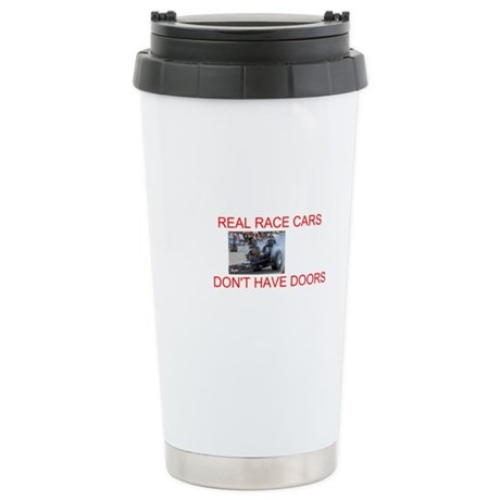 REAL RACE CARS Ceramic Travel Mug