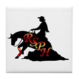 rsph sunset reiner Tile Coaster