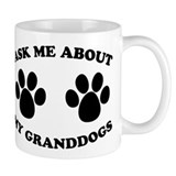 Ask About Granddogs Small Mugs